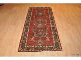 Small Runner Rug 6 Ft Long Handmade Rustic Color Persian Small Hall Runner Top