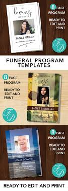 where to print funeral programs 315 best 8 page funeral program templates images on