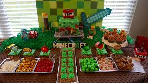 minecraft birthday party minecraft birthday party 16 bit crafting