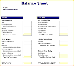 Company Balance Sheet Format In Excel Free Download by Balance Sheet Template Free Haisume