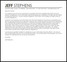 brilliant ideas of cover letter for security manager position on