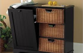 kitchen island with garbage bin kitchen trash can ideas mada privat