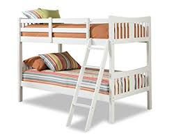 Hardwood Bunk Bed Storkcraft Caribou Solid Hardwood Bunk Bed White