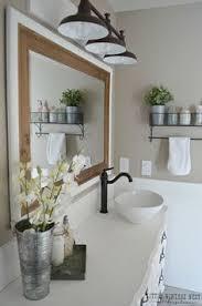 rustic modern farmhouse bath tour modern farmhouse bathroom makeover reveal budgeting modern
