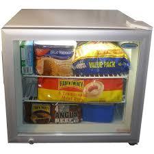 glass door chest freezer mini glass door bar freezer 50litre freezer great for home or