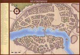 Forgotten Realms Map Silverymoon Dungeons U0026 Dragons