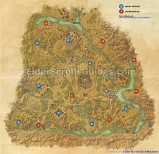 Bal Foyen Treasure Map Shadowfen Skyshards Map Elder Scrolls Online Guides