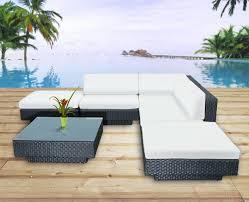 canapé de jardin design beautiful salon d angle exterieur de jardin images amazing house