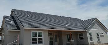 Flat Concrete Roof Tile Sedona Location Roofs Arizona