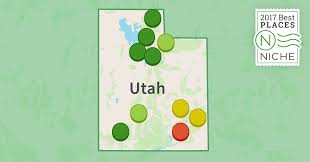 Map Of Counties In Utah by 2017 Best Suburbs To Live In Utah Niche