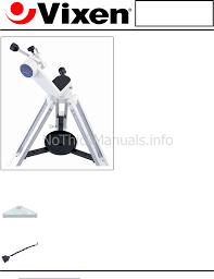 vixen am oo 3842 telescope user manual download as pdf