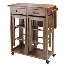 small kitchen island table brown wood rolling lock compact two bar small kitchen island table brown wood rolling lock compact two bar stools combo
