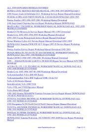 1995 volvo 960 service repair manual 95