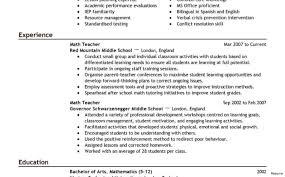 resume templates for job applications teacher resume objective exles sle for assistant professor