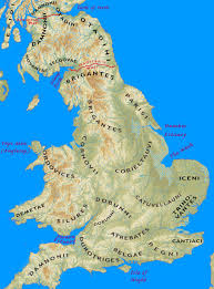 Map Of World Before Ice Age by Iron Age Tribes Of Southern Britain Interactive Map