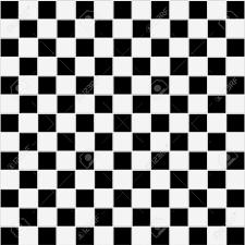 Black And White Checkered Tile Bathroom Seamless Black And White Checkered Tiles Texture Stock Photo