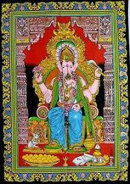 hindu decorations for home hindu ganesh poster indian home temple decor wall hanging mandala