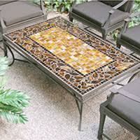 Mosaic Patio Furniture Neille Olson Designs The Patio Shop Patio U0026 Outdoor Furniture