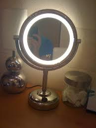 round makeup mirror with lights soar illuminated makeup mirror fashion911london mini haul 1