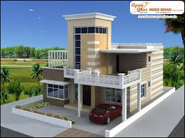 luxury duplex 2 floors house design area 252m2 21m x 12m