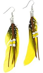 feather earrings white fashion dangle feather earrings feather