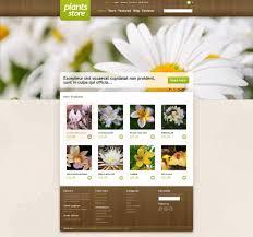 responsive plants store jigoshop theme 45342