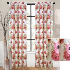 waverly clifton hall floral window curtain walmart com