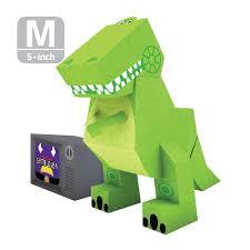 momot disney toy story dinosaur pixar paper craft cut outs origami