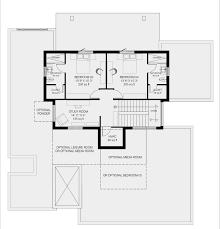 Efficient Floor Plans by Custom Modern Homebuilder Marvel Floorplan Modern Home Builder