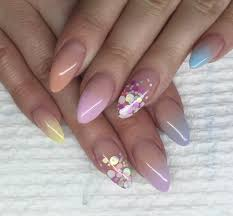 pastel baby boomer acrylic nails feat tones products youtube