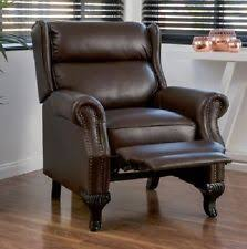 Lazy Boy Living Rooms by Deluxe Recliner Chair Lazy Boy Lounge Seat Brown Leather Living