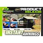 Iron Man Awning Powertune 4x4 New