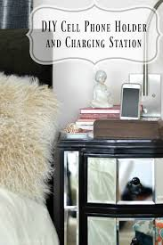 Build Your Own Charging Station Diy Cell Phone Holder And Charging Station Pretty Handy