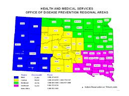 South Dakota County Map Hiv Resource Guide