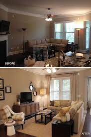 small furniture for small living rooms before and after vinings living room corner easy and arranging