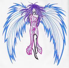 angel tattoo u0027color u0027 by designerdragon on deviantart