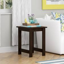 narrow end tables living room narrow end table drawers leick small for rv unfinished with glass