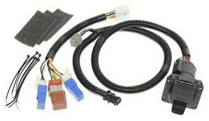 t one vehicle wiring harness with 7 way trailer connector tekonsha