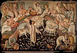 banchetti antica roma gustatio gli antichi romani inventano l aperitivo