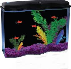 amazon com api aquawave aquarium kit with led lighting and