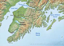 Maps Of Alaska by Kenai Peninsula Maps