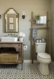 Bathroom Ideas Country Style Bathroom Wooden Ladders Farmhouse Bathrooms Bathroom Ideas