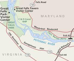 Potomac River On Map Great Falls Maps Npmaps Com Just Free Maps Period
