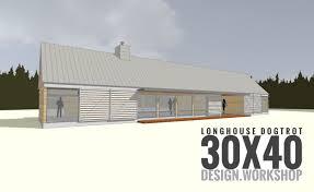 Dogtrot House Floor Plans Longhouse Dogtrot Design Youtube