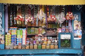 store in india basanti india january 14 grocery store in a rural place