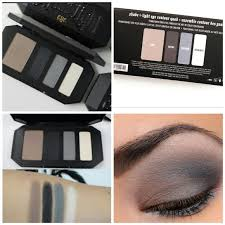 kat von d shade light eye contour quad kat von d makeup shade light contour quad in smoke poshmark
