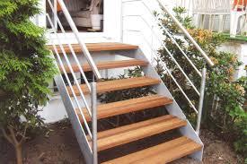 garten treppe gartentreppe ronald meyer metallbau stahlbau