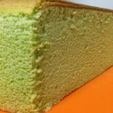 baking diary greentea sponge cheesecake
