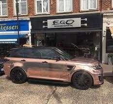 rose gold range rover egobarbers sur twipost com