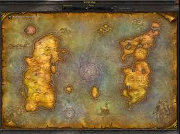 Stormwind Map The Broken Isles Were In The Vanilla Map Wow